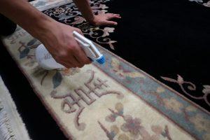 tapijt reinigen vlekbehandeling